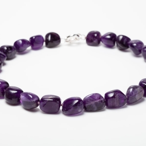 LARGE AMETHYST NECKLACE